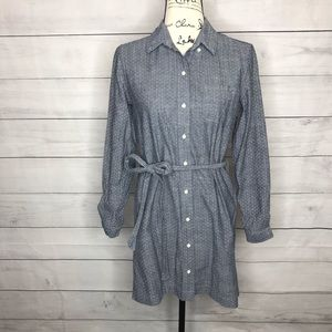 Banana Republic Soft Wash Shirt chambray tunic 4